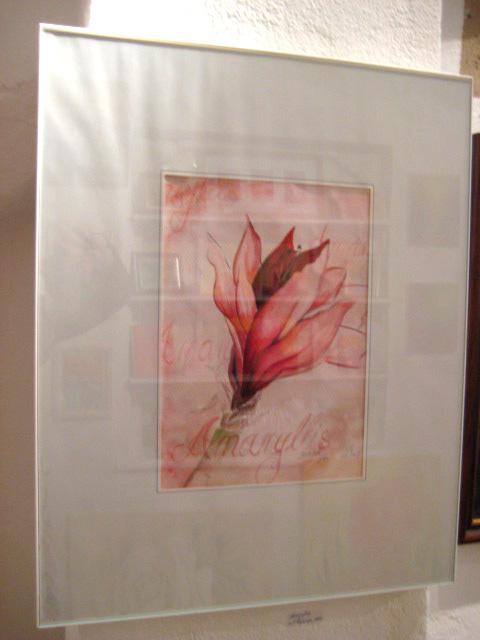 """Amaryllis Aquarell, """"Galerie Artemis"""""""