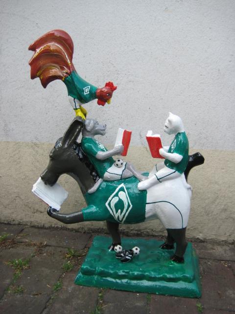 "Bremer Stadtmusikanten No. 138 ""Werder"" -verkauft-"