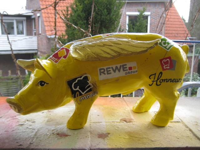 Glücksschwein für Rewe-Group