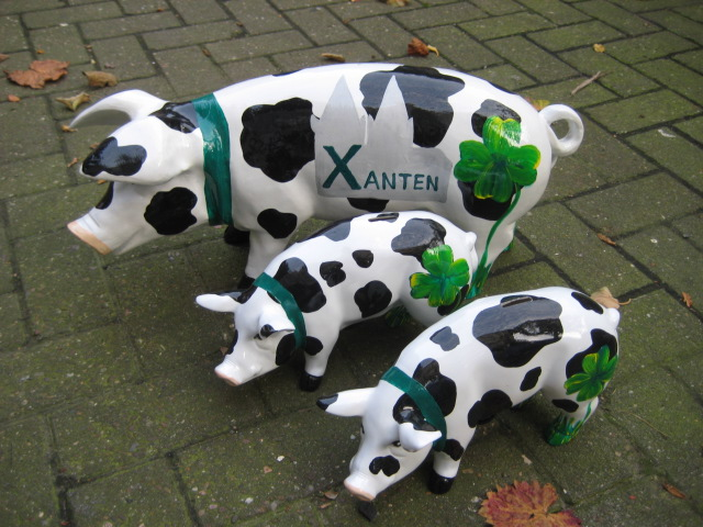 Xantener Schwein, Ferkel & Minis, Sonderanfertigung