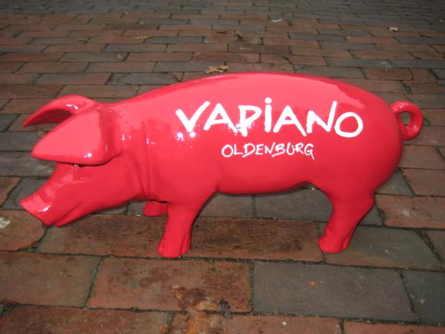 Sonderanfertigung für Vapiano, Oldenburg