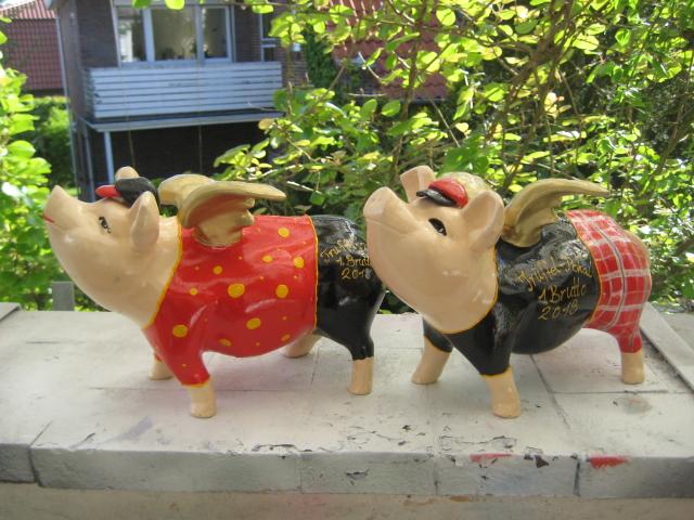 Trophäen-Schweine