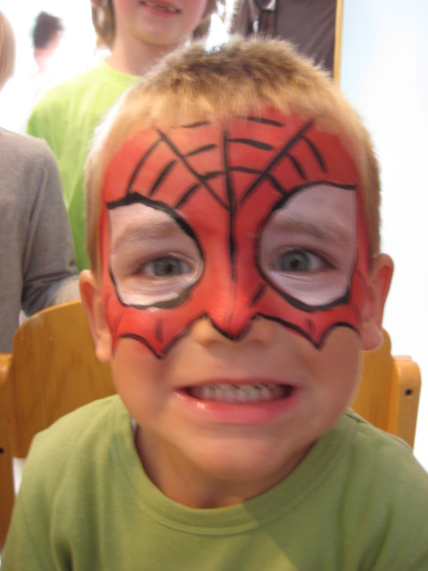 face painting pictures step by step