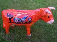Titelbild des Albums: Kleine Kuehe, handbemalte Kuh