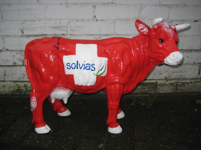 Schweizer Kuh, Fa. Solvias, Sonderanfertigung