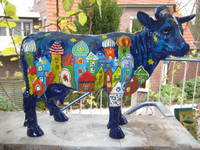 Titelbild des Albums: Große Kuehe, handbemalte Kuh