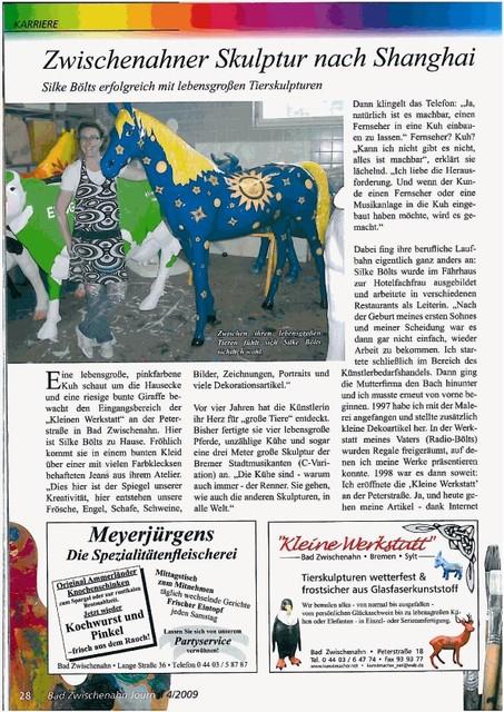 Bad Zwischenahn Journal Seite 1