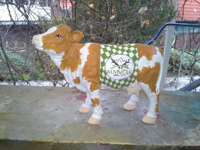 Kleine Kuh für Almvolk