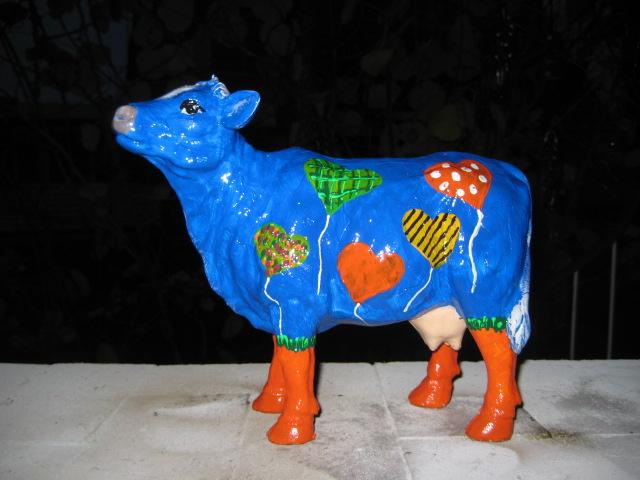 Designer-Kuh, Sonderanfertigung für Fa. Ambiente, NL