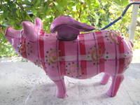 Highlight for Album: Hummel- Sparschweine, die mini Flügel- Sparschweine