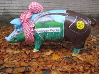 Highlight for Album: Tiere lebensgroß, lebensgroße Kuh, lebensgroßes Schwein, Tiere aus GFK und Fieberglas