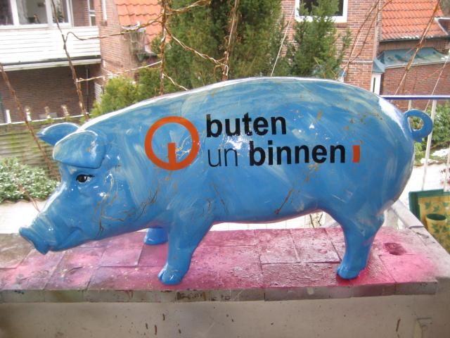 """""""buten un binnen""""- Schwein, Radio Bremen"""