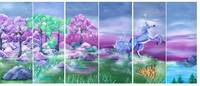 Titelbild des Albums: Wandbemalungen, Wandmalerei der besonderen Art.