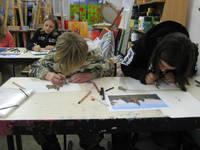 Titelbild des Albums: Zeichenkurs für SchülerInnen