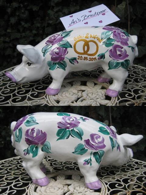 Sparschwein zur Hochzeit