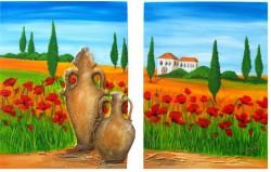 Archiv-Landschaften, Landschaftsmalerei