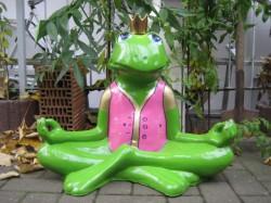 Frosch meditierend_19