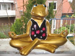 Frosch meditierend_20