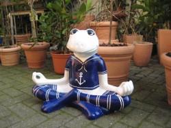 Frosch meditierend_26