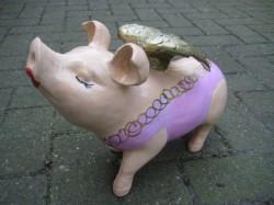Grosses Hummel-Schwein