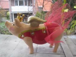 Hummel- Sparschweine, die mini Flügel- Sparschweine