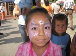 Kinderschminken Bad Zwischenahner Woche 2008